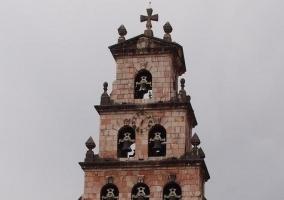 Zona de la iglesia parroquial