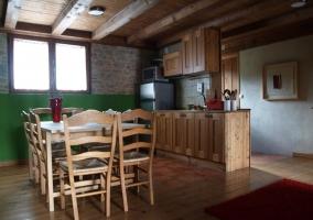 Cocina apartamento medio