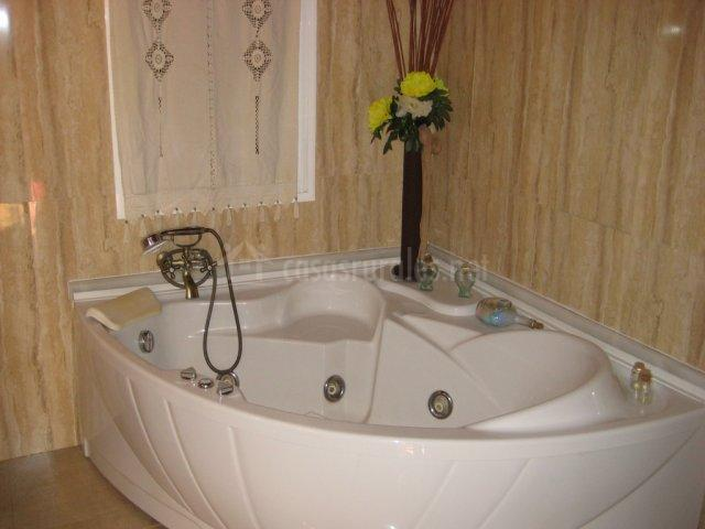 Con bañera de hidromasaje