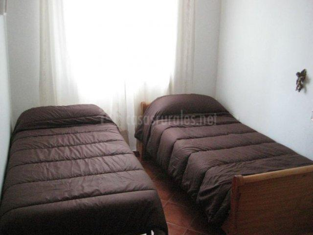 Dormitorio individual con supletoria