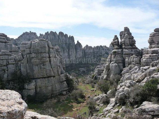 Zona natural de El Torcal