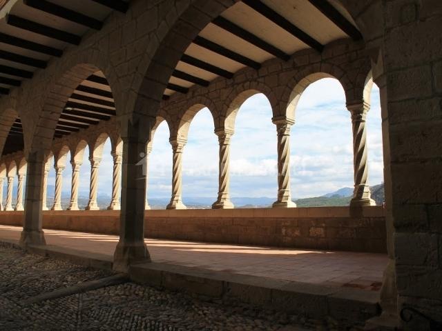 Interior del Santuario de Graus