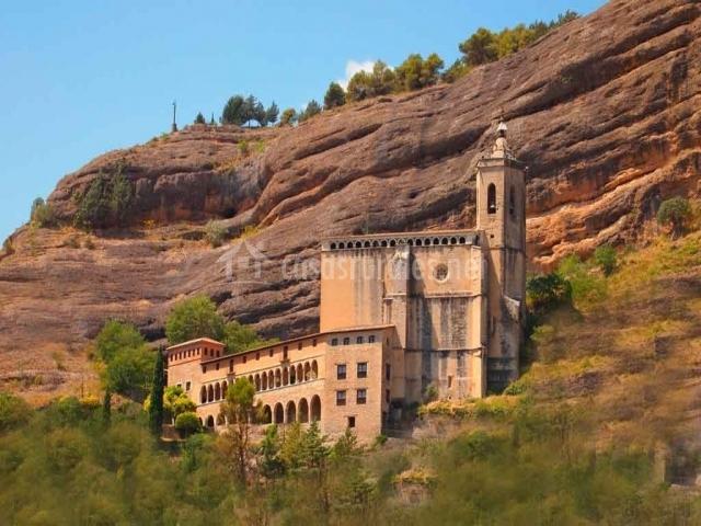 Santuario de la Virgen de la Peña en Graus