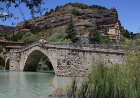 Puente de Graus sobre el Ésera