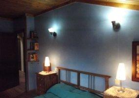 Dormitorio doble en el piso superior