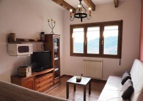 Exterior con muebles y barbacoa