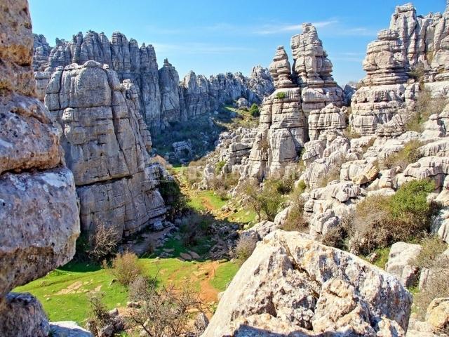 Parque Natural El Torcal de Antequera