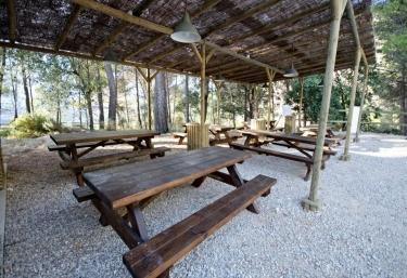 Mobiliario exterior en madera