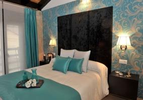 Dormitorio Alquimia con cabecero acolchado