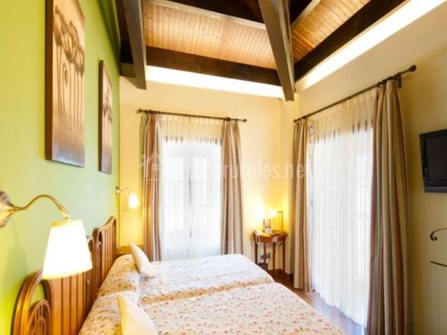 Dormitorio con capacidad para 4 personas
