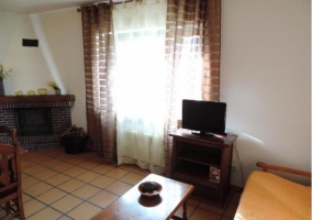 Sala de estar y comedor en el mismo espacio