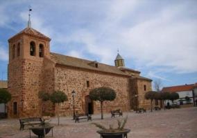 Zona de la iglesia de Picón