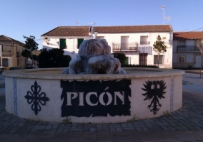 Zona de la plaza de Picón