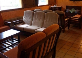 Zona de estar con sillones
