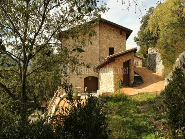 El refugi de viladomat rural en la nou de bergueda barcelona - Casas rurales bcn ...
