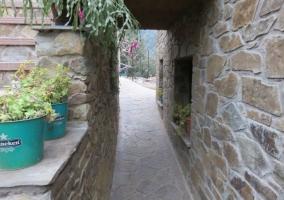 Visstas del patio y la fachada