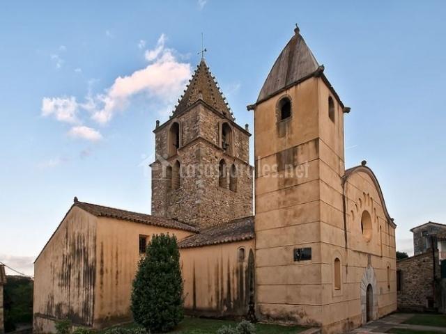 Zona de la antigua iglesia