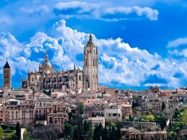 Zona centro de Segovia