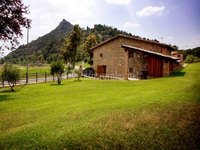 Can cisquet en santa maria de besora barcelona - Casas rurales bcn ...