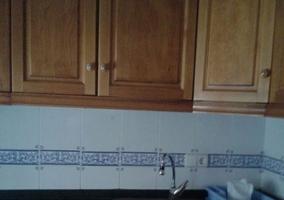 Cocina con fregadero