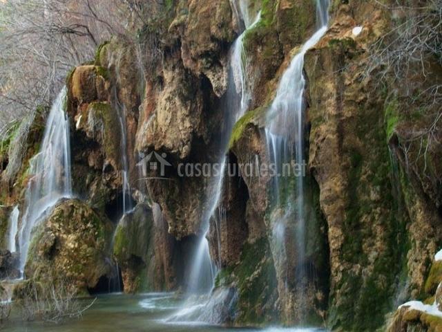 Zona de Vega del Codorno con el río Cuervo