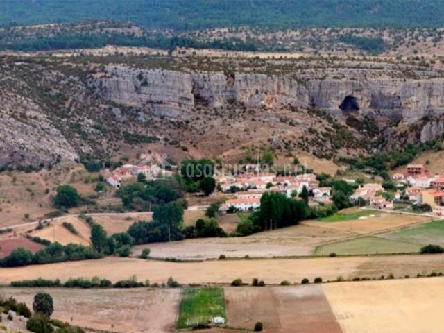 Zona de Vega del Codorno natural