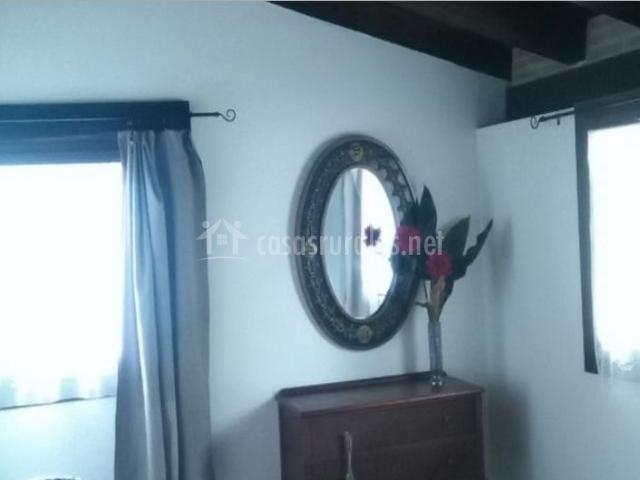 Dormitorio de matrimonio al detalle