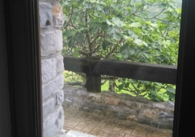 Vistas de la ventana al exterior