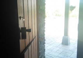 Vistas del porche de la casa