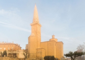 Olite y la iglesia de San Pedro