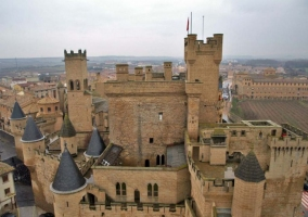 Olite y su castillo