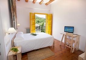 Dormitorio estándar con vistas