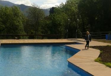 Vistas de la piscina completa