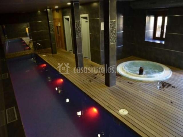 Cantabria infinita 5 en ojedo cantabria for Casa rural con piscina climatizada cantabria