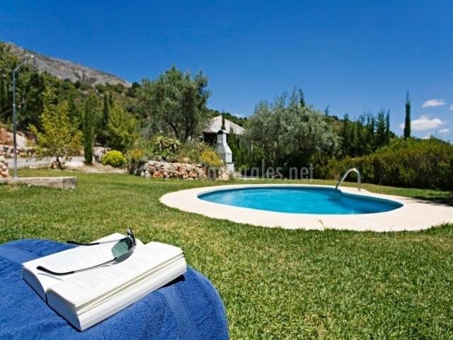 Villa margarita en el chorro m laga - Espacios verdes malaga ...