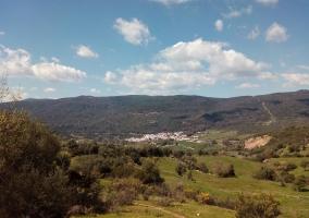 El Colmenar, poblacion serrana