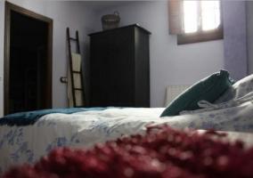 Lavanda dormitorio con sus luces
