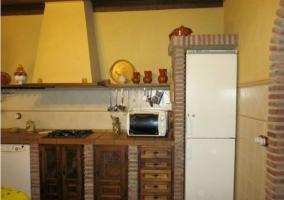 Nevera, horno y microondas