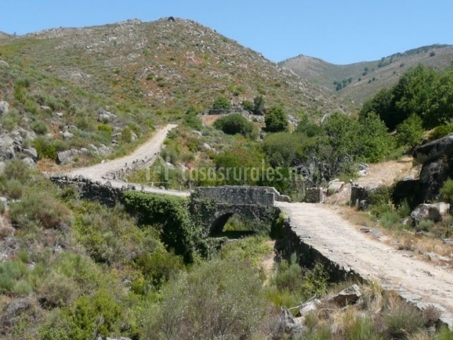 Puente Romano Matrimonio : Apartamento sinuhé en gata cáceres