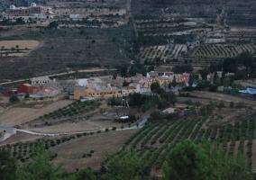 Zona centro de Inazares