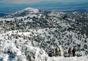 Zona de deportes de nieve