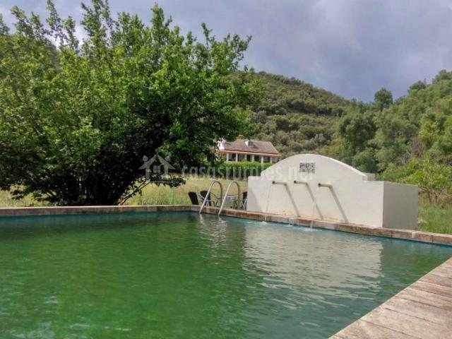 Hoz de la pinilla casas rurales en navahermosa toledo - Casa rural toledo piscina ...