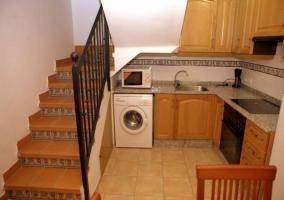 Vistas del acceso a la vivienda
