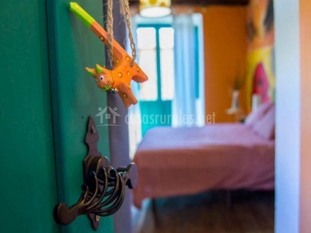 Dormitorio de matrimonio y detalle