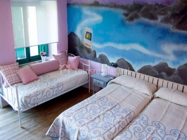 Dormitorio doble amplio y la supletoria
