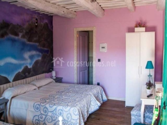 Dormitorio doble con supletoria