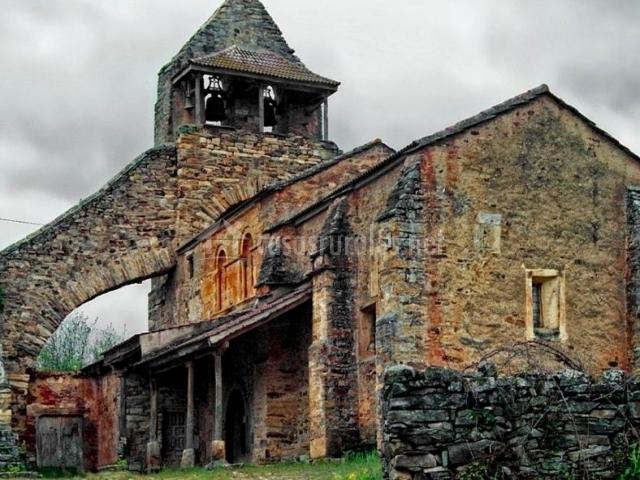 Zona de la iglesia de Santa Colomba