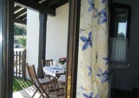 Sala de estar y salida directa al exterior