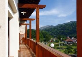 Vistas de la terraza abierta al entorno