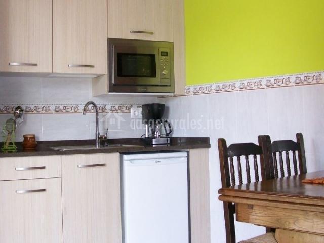 Apartamentos amplio y cocina